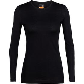 Icebreaker 200 Oasis Camiseta manga larga cuello redondo Mujer, black
